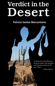 Writer Patricia Santos Marcantonio Book Cover - Verdict in the Desert
