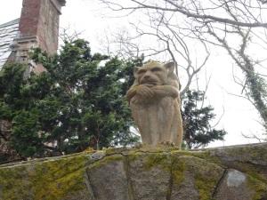 Gargoyle at Hammond Castle