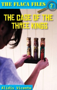 Writer Alidis Vicente Book Cover - The Case of the Three Kings