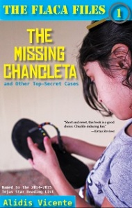 Writer Alidis Vicente Book Cover - The Missing Chancleta