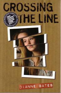 Writer Di Bates Book Cover - Crossing the Line