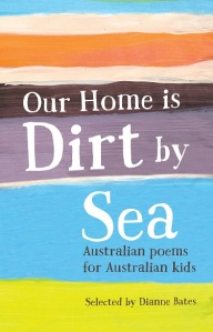 Writer Di Bates Book Cover - Our Home is Dirt by Sea