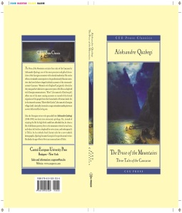 The Prose of the Mountains by Aleksandre Qazbegi - translated by Rebecca Gould