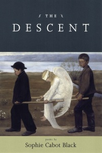 Poet Sophie Cabot Black Book Cover - The Descent