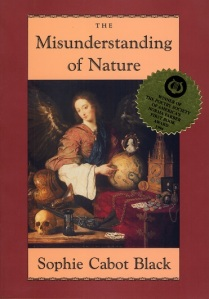 Poet Sophie Cabot Black Book Cover - The Misunderstanding of Nature