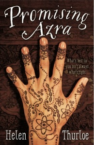 Writer Helen Thurloe Book Cover - Promising Azra