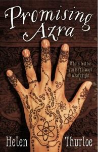 Writer Helen Thurloe Book Cover - Promising Azra