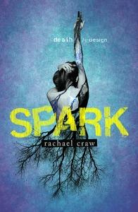 Writer Rachael Craw Book Cover - Spark