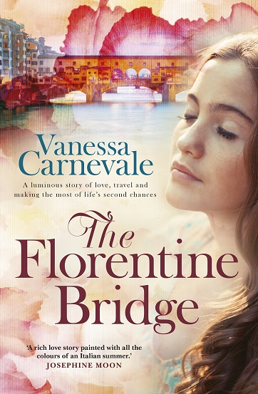Writer Vanessa Carnevale Book Cover - The Florentine Bridge