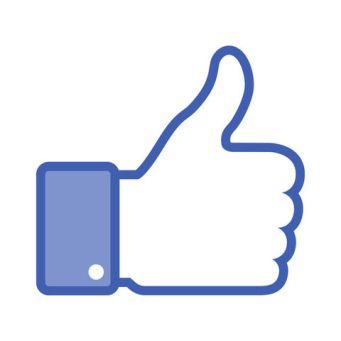 Facebook thumbs up logo