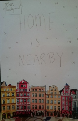 Magdalena McGuire - Home Is Nearby Mock-up Book Cover