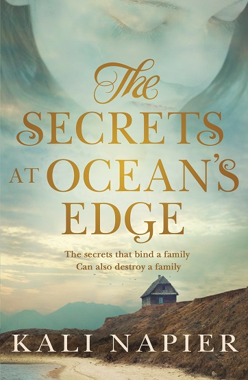 Writer Kali Napier Book Cover - The Secrets at Ocean's Edge