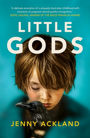 Writer Jenny Ackland Book Cover - Little Gods