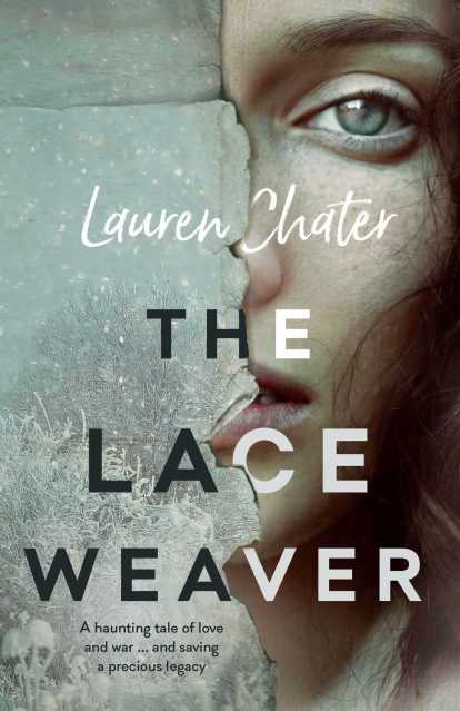 Lauren Chater Book Cover - The Lace Weaver