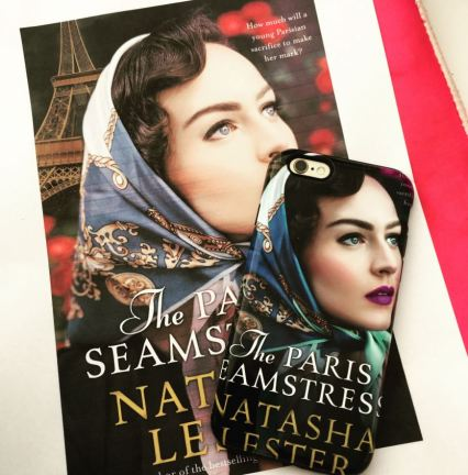 Natasha Lester phone case - The Paris Seamstress