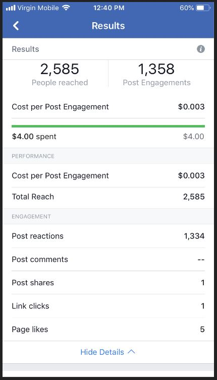 I Paid For A Facebook Promotion Here S What Happened Wordmothers