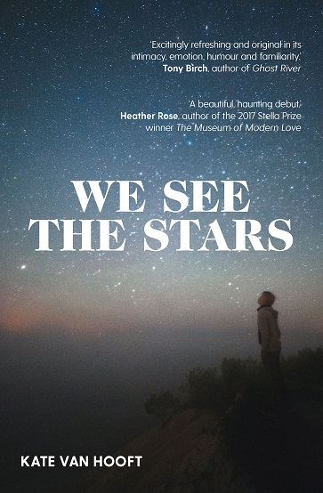 Writer Kate van Hooft Book Cover - We See the Stars