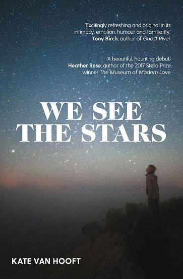 Writer Kate van Hooft Book Cover - We See the Stars