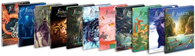 F(r)iction Issue Lineup from Brink Literacy Project