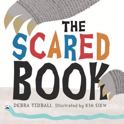 Writer Debra Tidball Book Cover - The Scared Book