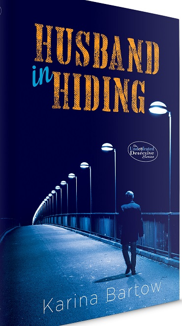 Writer Karina Bartow Book Cover - Husband in Hiding