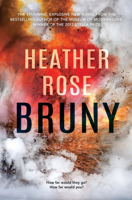 Writer Heather Rose Book Cover - Bruny