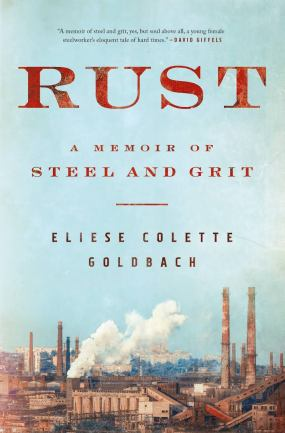 Writer Eliese Colette Goldbach Book Cover - Rust