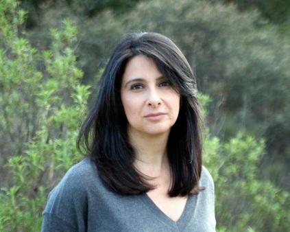 Writer Parnaz Foroutan