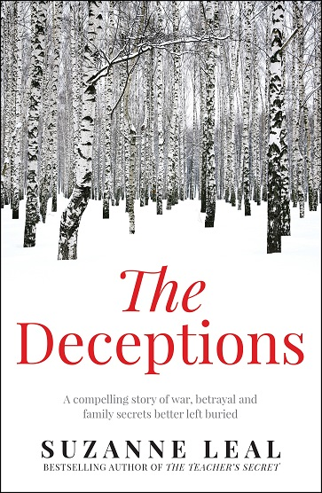 Writer Suzanne Leal Book Cover - The Deceptions
