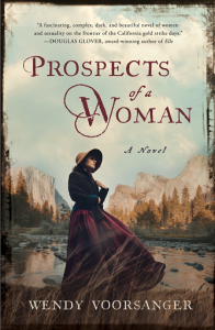 Writer Wendy Voorsanger Book Cover - Prospects of a Woman