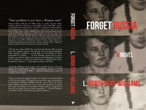 Writer L. Bordetsky-Williams Book Cover - Forget Russia